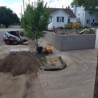 Minneapolis Engineered Retaining Wall.